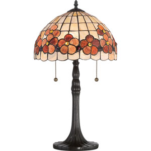 Sea Shell Collection Captiva Vintage Bronze 12.5-Inch Two-Light Table Lamp