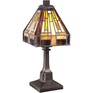 Stephen Vintage Bronze 11.5-Inch One-Light Table Lamp