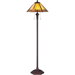 Arden Bronze Two-Light Floor Lamp