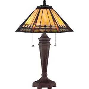Arden Bronze Two-Light Desk Lamp