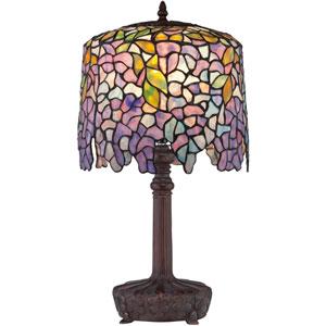 Tiffany Bronze One-Light Desk Lamp