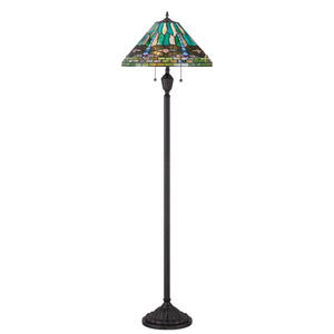 King Tiffany Floor Lamp