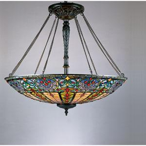 Tiffany Vibrant Bowl Pendant