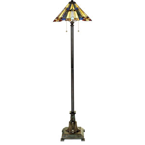 Inglenook Valiant Bronze Two-Light Floor Lamp