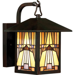 Inglenook Valiant Bronze 7-Inch One-Light Outdoor Wall Lantern