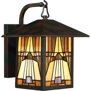 Inglenook Valiant Bronze 9-Inch One-Light Outdoor Wall Lantern