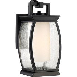 Terrace Mystic Black 6-Inch One-Light Outdoor Wall Lantern