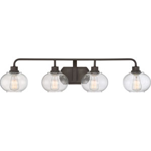 Trilogy Old Bronze Four-Light Bath Light