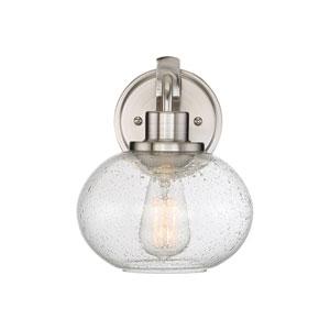 Trilogy Brushed Nickel One-Light Bath Light