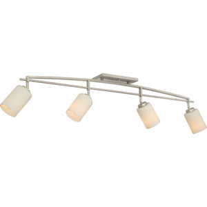 Taylor Antique Nickel Four-Light Ceiling Track Lights
