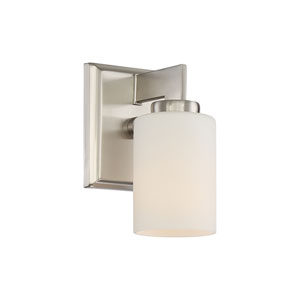 Taylor Brushed Nickel One-Light Vanity