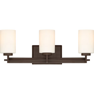 Taylor Western Bronze Three-Light Bath Light