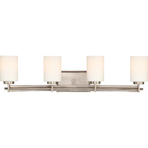 Taylor Antique Nickel Four-Light Bath Light
