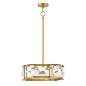 Jolie Heritage Brass LED Pendant