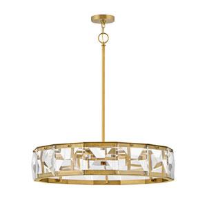 Jolie Heritage Brass LED Large Pendant