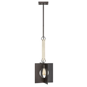 Ludlow Burnished Graphite One-Light Pendant