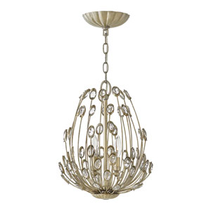 Tulah Silver Leaf Two-Light Pendant