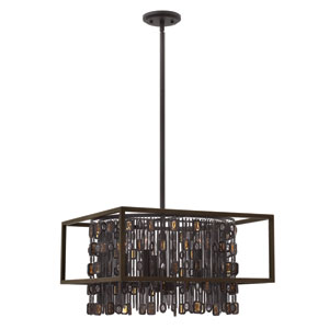 Mercato Anchor Bronze 20-Inch Five-Light Chandelier