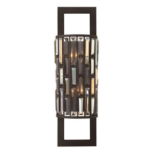 Gemma Vintage Bronze 25.5-Inch Two-Light Wall Sconce