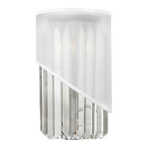 Gigi Polished Nickel One-Light Wall Sconce