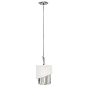 Gigi Polished Nickel One-Light Mini Pendant