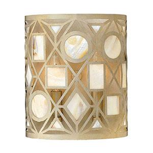 Isla Silver Leaf Two-Light Wall Sconce