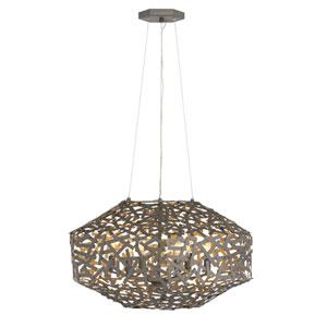 Kestrel Metallic Matte Bronze Six-Light Pendant
