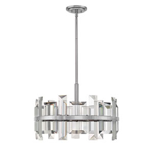 Odette Polished Nickel Six-Light Pendant