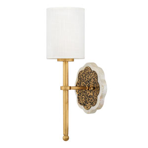 Alba Cleopatra Gold One-Light Wall Sconce