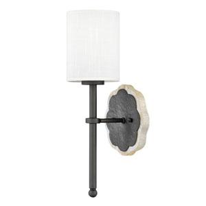 Alba Metallic Matte Bronze One-Light Wall Sconce