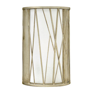 Nest Silver Leaf 14-Inch One-Light Wall Sconce