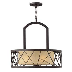 Nest Oil Rubbed Bronze Three Light Chandelier