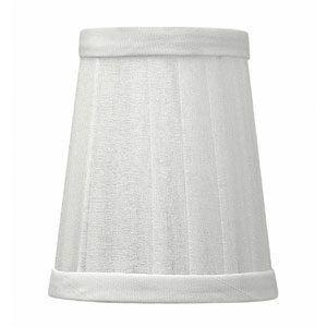 Cortina Silver Chiffon Lamp Shade