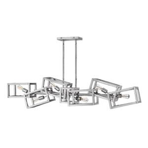 Ensemble Polished Nickel Linear Pendant