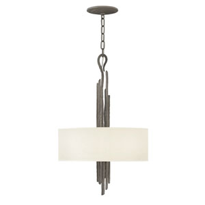 Spyre Metallic Matte Bronze Three-Light Single Tier Pendant
