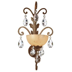 Barcelona French Marble One-Light Wall Sconce