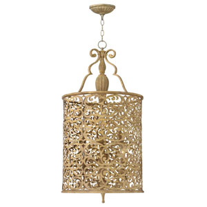 Carabel Antique Gold Six-Light Pendant