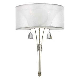 Mime Brushed Nickel One-Light Wall Sconce