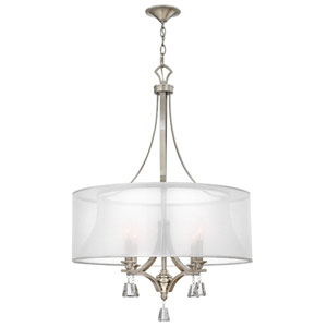 Mime Brushed Nickel Four-Light Pendant