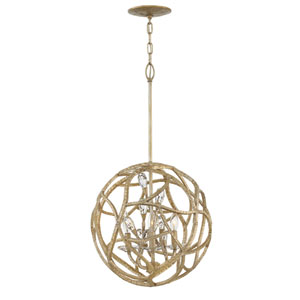 Eve Champagne Gold Pendant