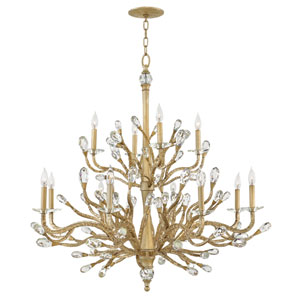 Eve Champagne Gold Chandelier