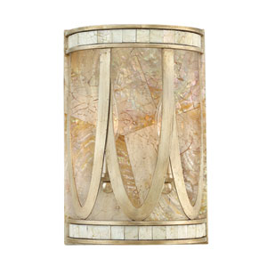 Sirena Champagne Gold Two-Light Wall Sconce