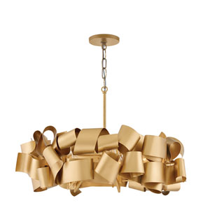 Delfina Deluxe Gold Five-Light Pendant