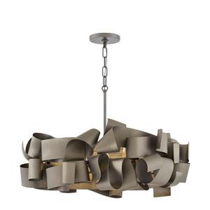Delfina Metallic Matte Bronze Five-Light Pendant
