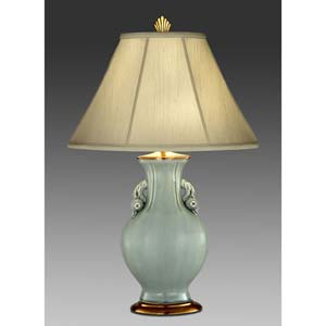 Celadon Porcelain Table Lamp