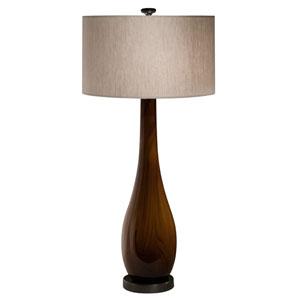 Burlwood Table Lamp
