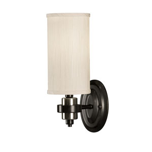 Manhattan Oil Rubbed Bronze One-Light Wall Sconce