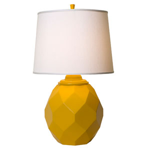 Jewel Yellow Table Lamp