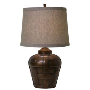 Ashbury Tan Shade Table Lamp