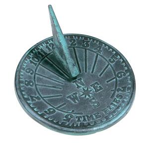 Cast Iron Numbers Sundial